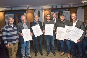 kreishandwerkerschaft niederrhein: ehrungen auf einen streich